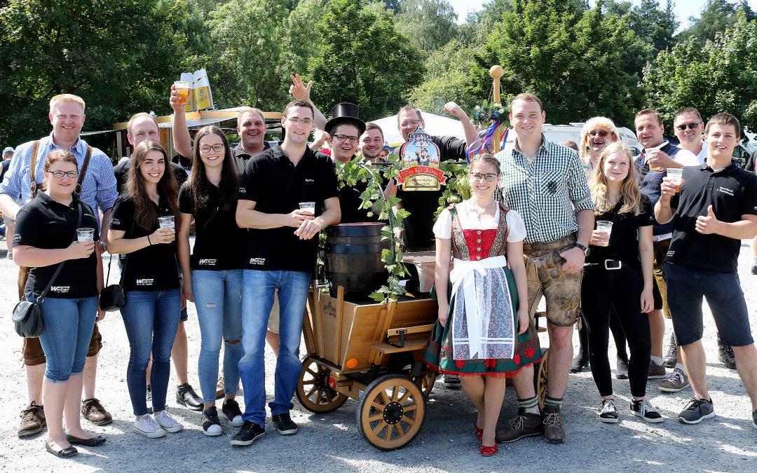 Sonne, Stimmung und viel Spaß im Feststadl bei der Kulmbacher Bierwoche